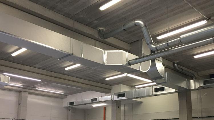Sistemas de Aire Acondicionado y Ventilación Industrial